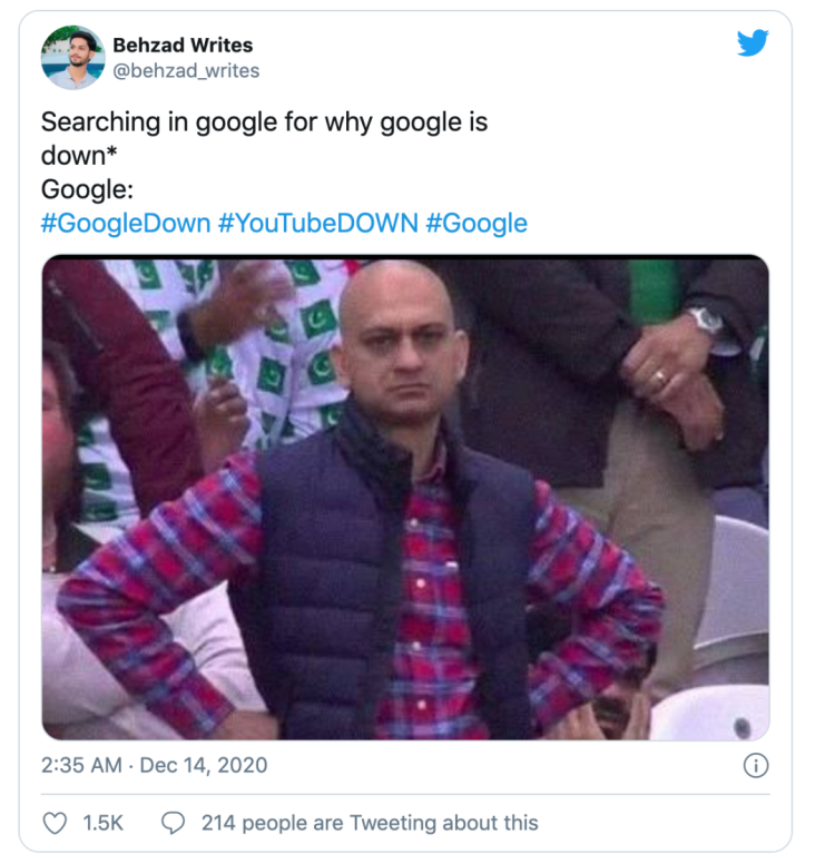 Google宕机4